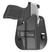 Tactical Holster For Sig Sauer P365 Paddle Holder Case 60° Adj. Right-Handed