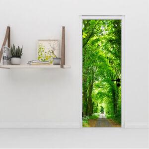 Forest Tree Walls Stickers 3D Self Adhesive Decal Mural Door Home Bedroom Decor
