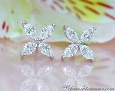 Feminin: Erlesene Marquise Diamanten Ohrstecker 0.75 ct TW SI Weißgold 750 4300€