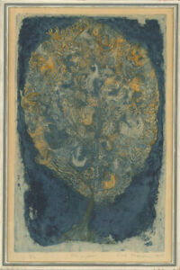 1968 Etching - Tree Of Life