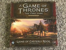 Game of Thrones LCG Second Edition Lions of Casterly Rock - New & Sealed