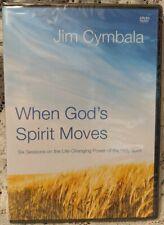 Jim Cymbala WHEN GOD'S SPIRIT MOVES Small Group Study Christian DVD NEW! Faith