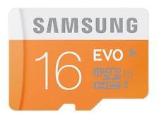 Samsung EVO 16GB microSDXC micro SD SDXC UHS microSD Class 10 card