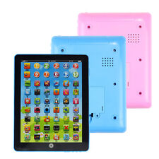 Kids Computer Tablet Chinese English Learning Study Machine Toy Blue GFY