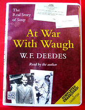 W.F.Deedes Reads At War With Waugh 4-Tape UNABR.Audio Scoop Inspiration (Evelyn)