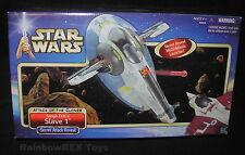 Star Wars 2002 JANGO FETT'S SLAVE 1 SWS AOTC Mint in Factory Sealed Box