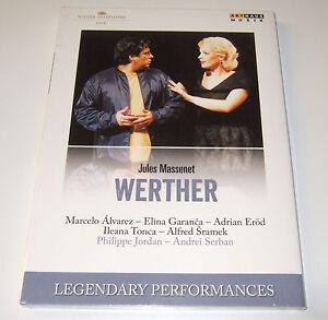 Massenet - WERTHER (DVD, 2015) Jordan, Alvarez - new, sealed
