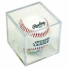 Ultra Pro Baseball Cube, baseball display case clear New
