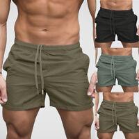 Fashion Mens Gym Casual Sports Jogging Jogger Shorts Pants Sweatpant Trousers