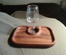 Wooden Wine Tray Rack/Appetizers