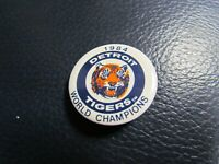 1984 Detroit Tigers World Champions Pin