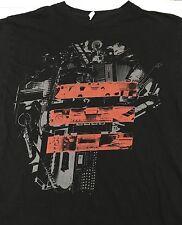 Jay-Z 2009 Concert Tour 2 Sided Black T-shirt Concert Dates On Back Adult Large