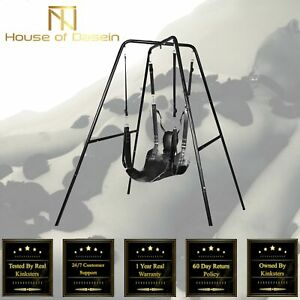 Leather Sex Hammock Sex Swing with Frame Sex Furniture BDSM SW101