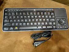 Logitech K700 Wireless Keyboard Controller w/USB Receiver for PC,Revue,Google TV