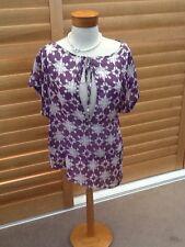 Gorgeous Sz 2 10 12 Kookai Silk Designer Top