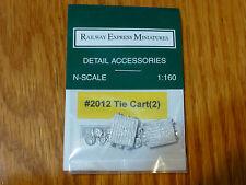 Railway Exp.Miniatures N #2012 Tie Cart