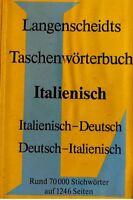 VLADIMIRO MACCHI dizionario/worterbuch italiano/deutsch
