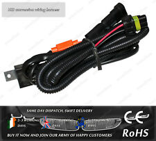 HID Relay Xenon Wiring Harness Conversion Adapter Relay Auxilary H8 H9 H11 Bulbs