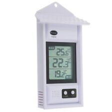 MAX MIN THERMOMETER - GARDEN GREENHOUSE INDOOR OUTDOOR WALL - 12/428/3