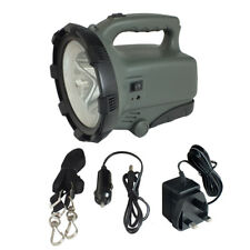 RECHARGEABLE ULTRABRIGHT 5W SMD LED SPOTLIGHT LANTERN TORCH 4.8M CANDLE POWER