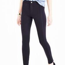 J.Crew Black Pixie Snap Front Pant Leggings Size 12 Short