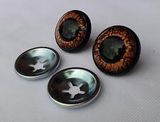 Ojos de seguridad marrón 24 mm para osos de peluche amigurumi juguetes animales