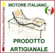 RETE LETTO CON MOTORE MADE ITALY RETI ELETTRICHE SINGOLE 80x190 h 40 MOTORIZZATA
