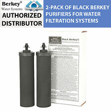 Berkey BB9 Replacement Black Purifier Elements for Berkey Water Filter Systems