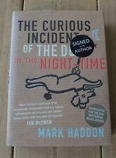 The Curious Incident of the Dog in the Night-time by Mark Haddon  2003-  signed