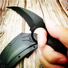 Steel Claw Knives Hunting Knife CS GO Tactical Claw Neck Camp Hunting Survival