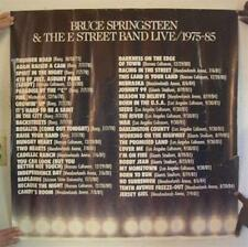 Bruce Springsteen & The E Street Band Poster And