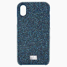 Swarovski Blue Ombre Crystal rhinestones iPhone phone X XS Case cover with bumpe