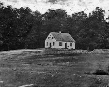 New 8x10 Civil War Photo: Dunker Church after Battle of Sharpsburg - Antietam