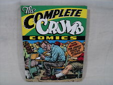 Complete R Crumb Volume 1 Hardcover Book Signed! Fantagraphics Comics HC (T 2482