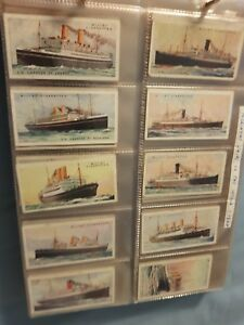 Merchant Ships of the World (1924) Wills Cigarette Cards - Buy 2 & Save