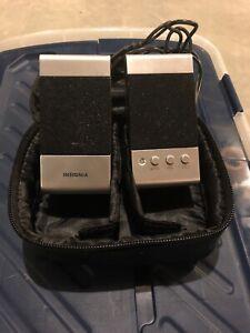 Insignia - Notebook Speakers NS-NBSPK2