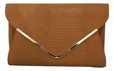Faux Leather Clutch Animal Purses & Wallets for Women