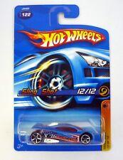 HOT WHEELS SLING SHOT #122 Track Aces 12/12 Die-Cast Car MOC COMPLETE 2006