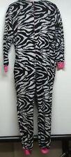 Women's Size Medium Animal Print One Piece Pajama Set Cosplay Costume