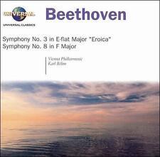 Symphony 3 in E Flat Maj: Eroica / Sym 8 in F Maj 2004 by Beethoven, Ludwig van;
