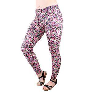Soft Stretch Leggings, Women's Full Length Fashion Pants Legging, Multi Color