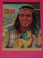 Film Revue-STAR calendario 1966/53 Star immagini + Copertina Pierre Brice