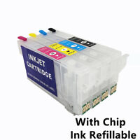 T802XL 802XL With Chip Ink Refill Cartridge For Epson WF-4720 WF-4730 WF-4740