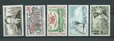 FRANCE - 1960 YT 1242 à 1246 - TIMBRES NEUFS** MNH LUXE