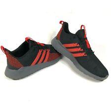 Adidas Mens 14 Questar Flow Running Lifestyle Athletic Sneakers Black Red EG5637