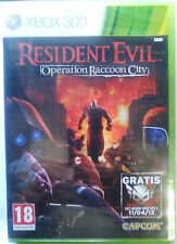 RESIDENT EVIL OPERATION RACCOON CITY. JUEGO XBOX 360. USADO,BUEN ESTADO.PAL-ESP.