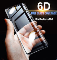 6D Cover Tempered Glass Screen Protector For Samsung Galaxy S10 S8 S9 Plus Note9