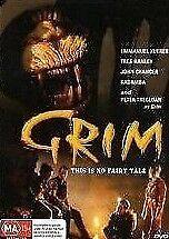 Grim DVD 1995 Rare Monster Horror Creature Movie - Emmanuel Xuereb - AUST REG 4
