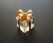 Swarovski Crystal Memories Classic- Present w/gold bow- New in Box!