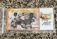Original  (1997)  40 Years In San Francisco 1958 -1997 GIANTS  PIN  NEW